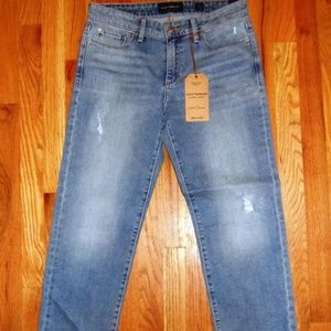Womens Lucky Brand Jeans Size 8/29 Sweet Crop NEW!